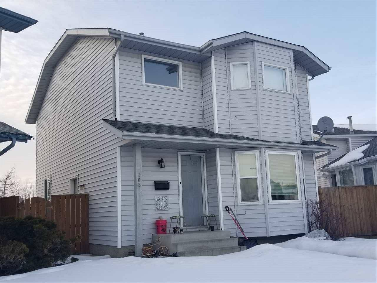 House for sale at 363 Kline Cres Nw Edmonton Alberta - MLS: E4190189