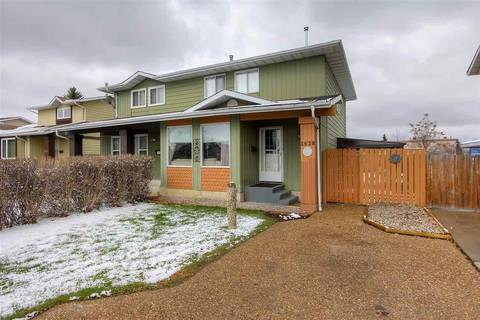Townhouse for sale at 3638 Hill View Cres Nw Edmonton Alberta - MLS: E4154603