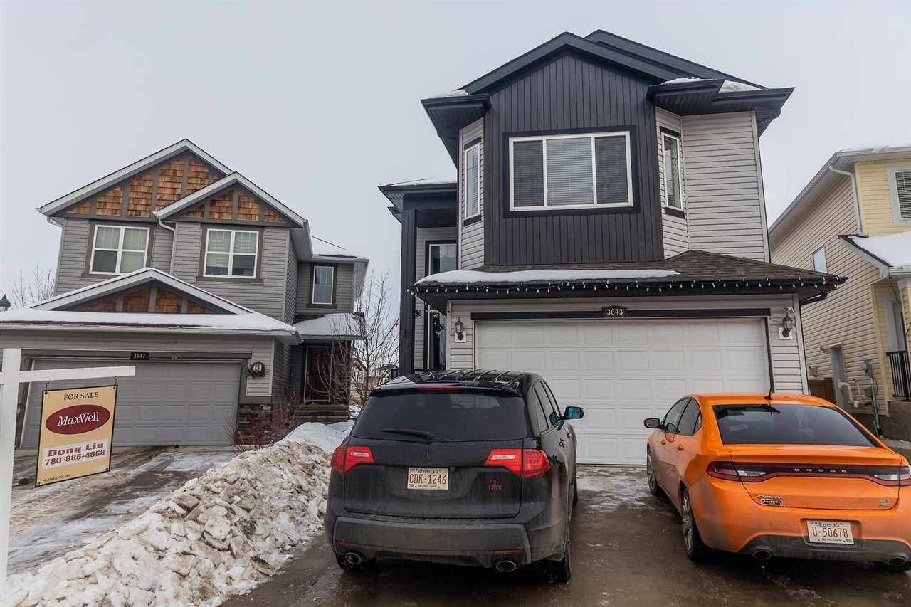 House for sale at 3643 14 St Nw Edmonton Alberta - MLS: E4186213