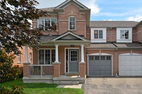 Townhouse for sale at 365 Flagstone Wy Newmarket Ontario - MLS: N4541071