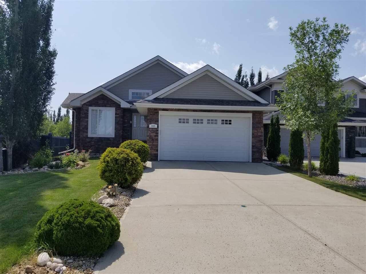 House for sale at 365 Magrath Blvd Nw Edmonton Alberta - MLS: E4167578