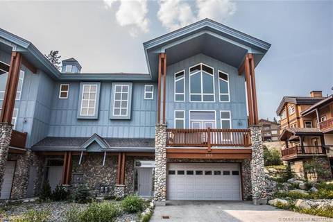 Townhouse for sale at 365 Moonshine Cres Big White British Columbia - MLS: 10173371