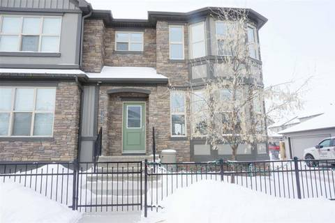 Townhouse for sale at 365 Pioneer Rd Spruce Grove Alberta - MLS: E4144091