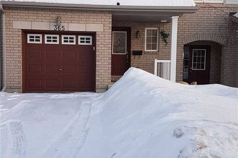 Townhouse for rent at 365 Rolling Meadow Cres Ottawa Ontario - MLS: X4701875