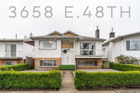 House for sale at 3658 48th Ave E Vancouver British Columbia - MLS: R2428892