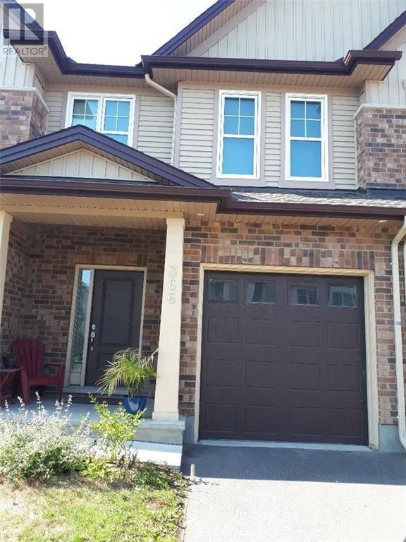 Townhouse for rent at 366 Alasken Dr Ottawa Ontario - MLS: 1171412