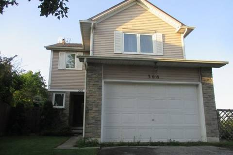 House for sale at 366 Prince Of Wales Dr Whitby Ontario - MLS: E4555323