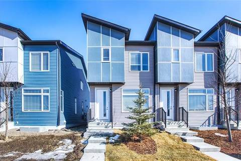 Townhouse for sale at 366 Redstone Blvd Northeast Calgary Alberta - MLS: C4290269