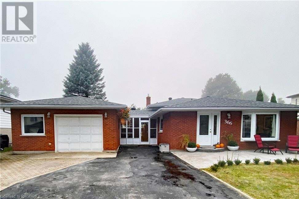 House for sale at 366 Waterloo St Port Elgin Ontario - MLS: 40025507