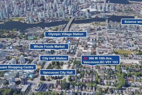 Townhouse for sale at 366 10th Ave W Vancouver British Columbia - MLS: R2525153