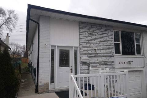 Townhouse for rent at 3660 Ellengale Dr Mississauga Ontario - MLS: W4722726