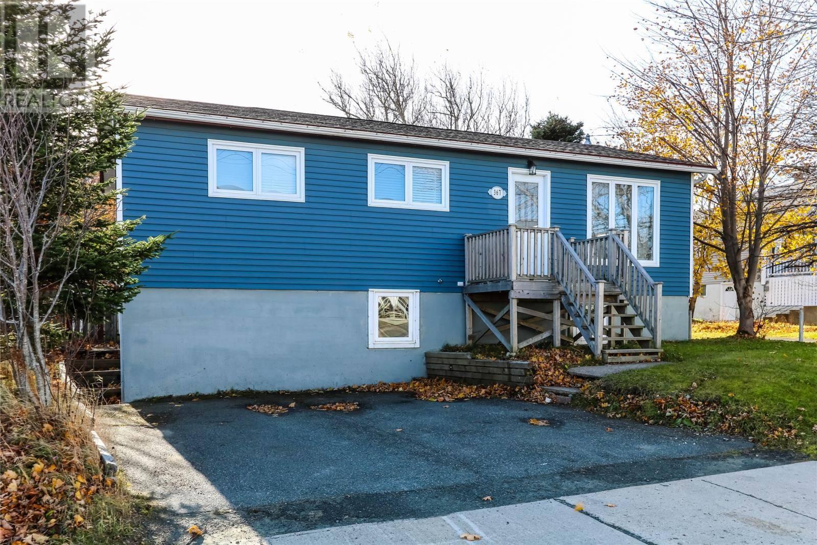 House for sale at 367 Blackmarsh Rd St. John's Newfoundland - MLS: 1206985