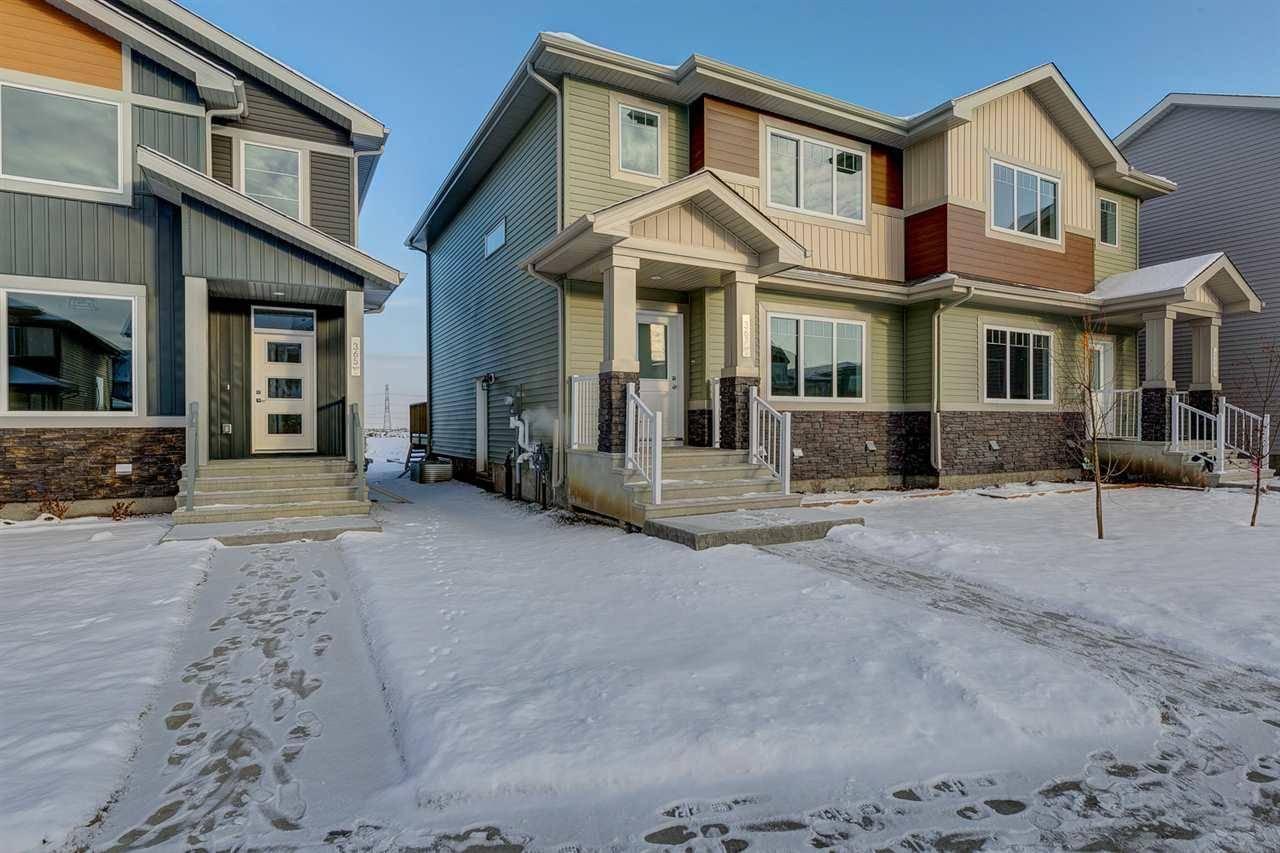 Townhouse for sale at 367 Charlesworth Dr Sw Edmonton Alberta - MLS: E4182125