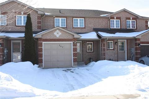 Townhouse for sale at 367 Dunsmore Ln Barrie Ontario - MLS: S4693872