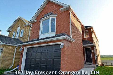 House for sale at 367 Jay Cres Orangeville Ontario - MLS: W4540609