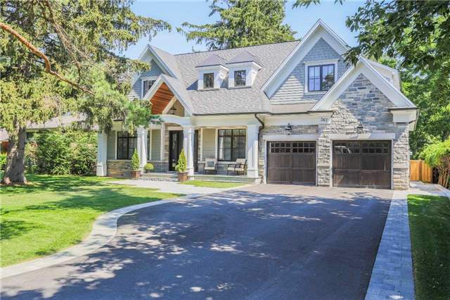 For Sale: 367 Maple Grove Drive, Oakville, ON   4 Bed, 5 Bath House for $3,688,000. See 20 photos!