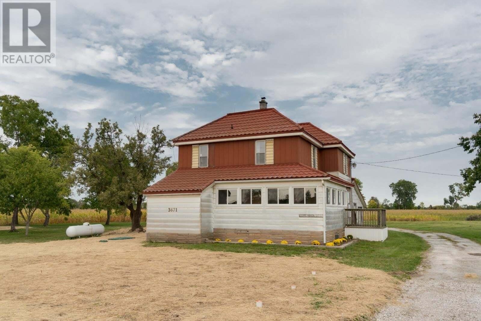 House for sale at 3671 Creek Creek Amherstburg Ontario - MLS: 20012552