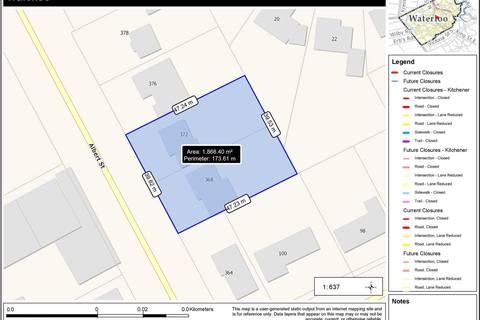 House for sale at 368 Albert St Waterloo Ontario - MLS: X4350207