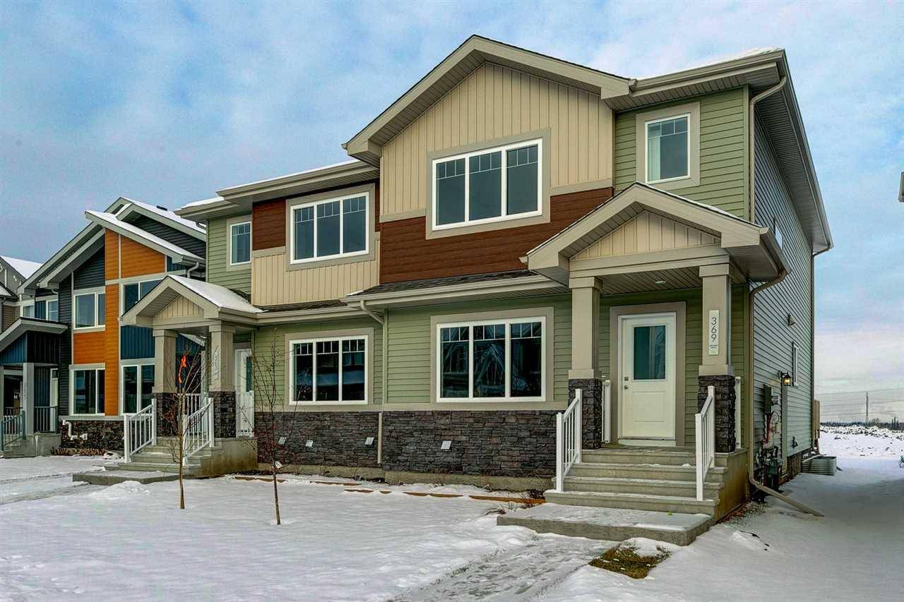 Townhouse for sale at 369 Charlesworth Dr Sw Edmonton Alberta - MLS: E4182126