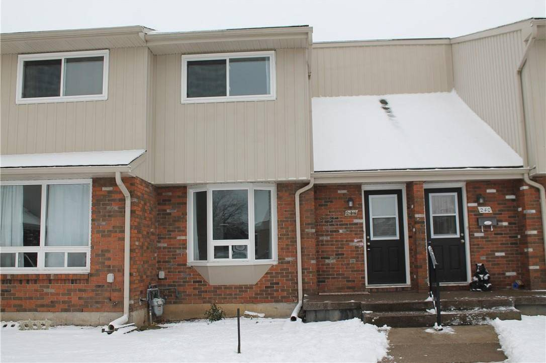 Townhouse for rent at 244 Brownleigh Ave Unit 37 Welland Ontario - MLS: H4071954