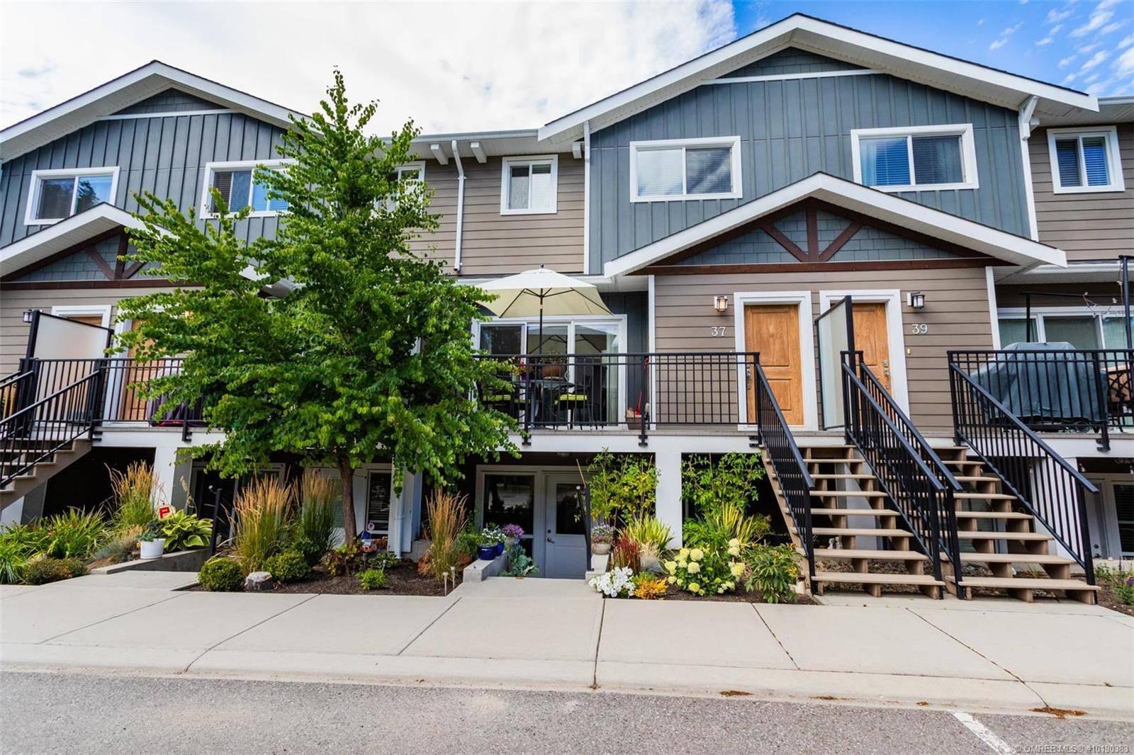 Townhouse for sale at 600 Boynton Pl Unit 37 Kelowna British Columbia - MLS: 10190383