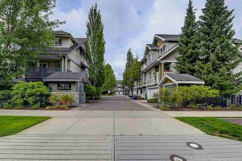 Townhouse for sale at 7833 Heather St Unit 37 Richmond British Columbia - MLS: R2404215