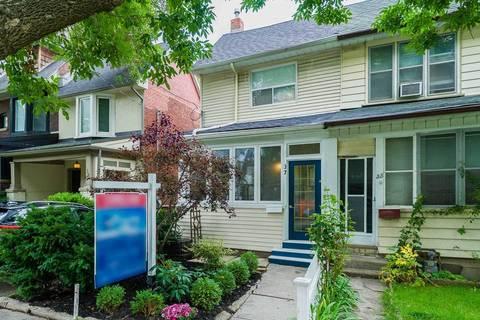 Townhouse for sale at 37 Alton Ave Toronto Ontario - MLS: E4579833