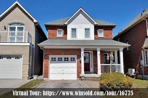 House for sale at 37 Bolster Ln Uxbridge Ontario - MLS: N4735933