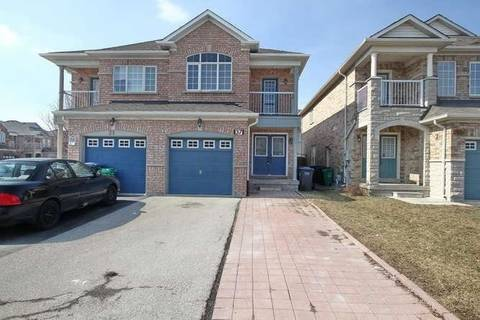 Townhouse for sale at 37 Dewridge Ct Brampton Ontario - MLS: W4389747