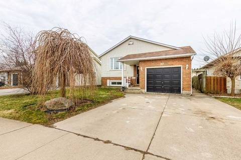 House for sale at 37 Eastwood Dr Welland Ontario - MLS: X4730778