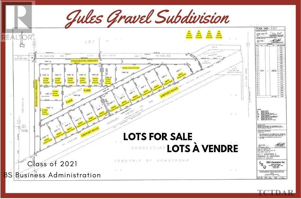 Residential property for sale at 37 Jules Gravel Cres Earlton Ontario - MLS: TM191024