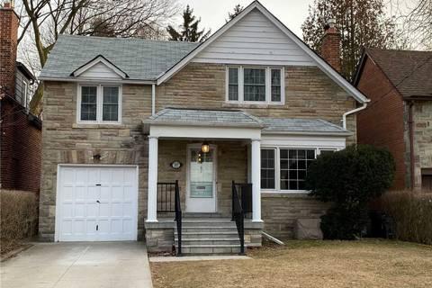 House for rent at 37 Kingsgarden Rd Toronto Ontario - MLS: W4695778