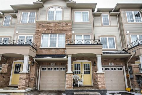 Townhouse for sale at 37 Mayland Tr Stoney Creek Ontario - MLS: H4058373