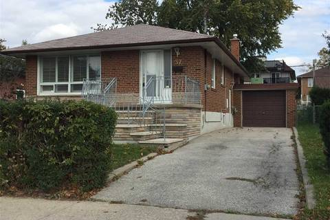 House for rent at 37 Reno Dr Toronto Ontario - MLS: E4681608