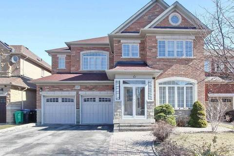 House for sale at 37 Rubysilver Dr Brampton Ontario - MLS: W4729480