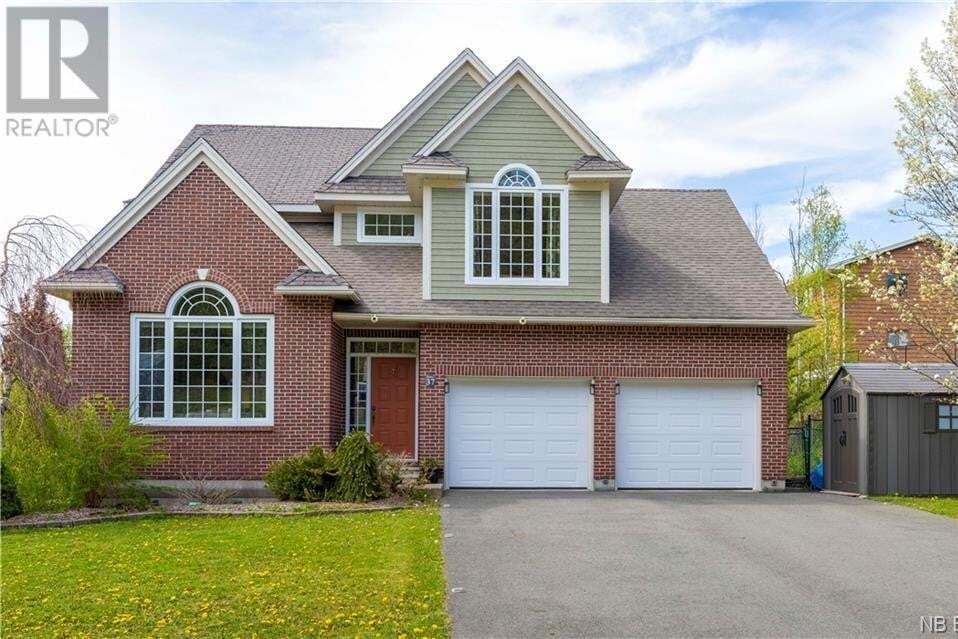 House for sale at 37 Secoudon Dr Saint John New Brunswick - MLS: NB043939