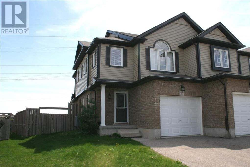 Townhouse for rent at 37 Sorrento St Kitchener Ontario - MLS: 30811113