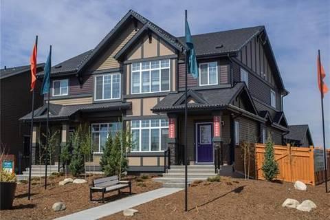 Townhouse for sale at 37 Sunrise Wy Cochrane Alberta - MLS: C4291920
