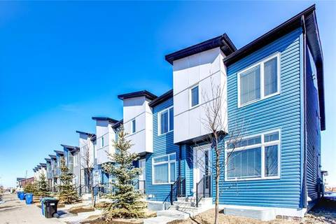 Townhouse for sale at 370 Redstone Blvd Northeast Calgary Alberta - MLS: C4290270