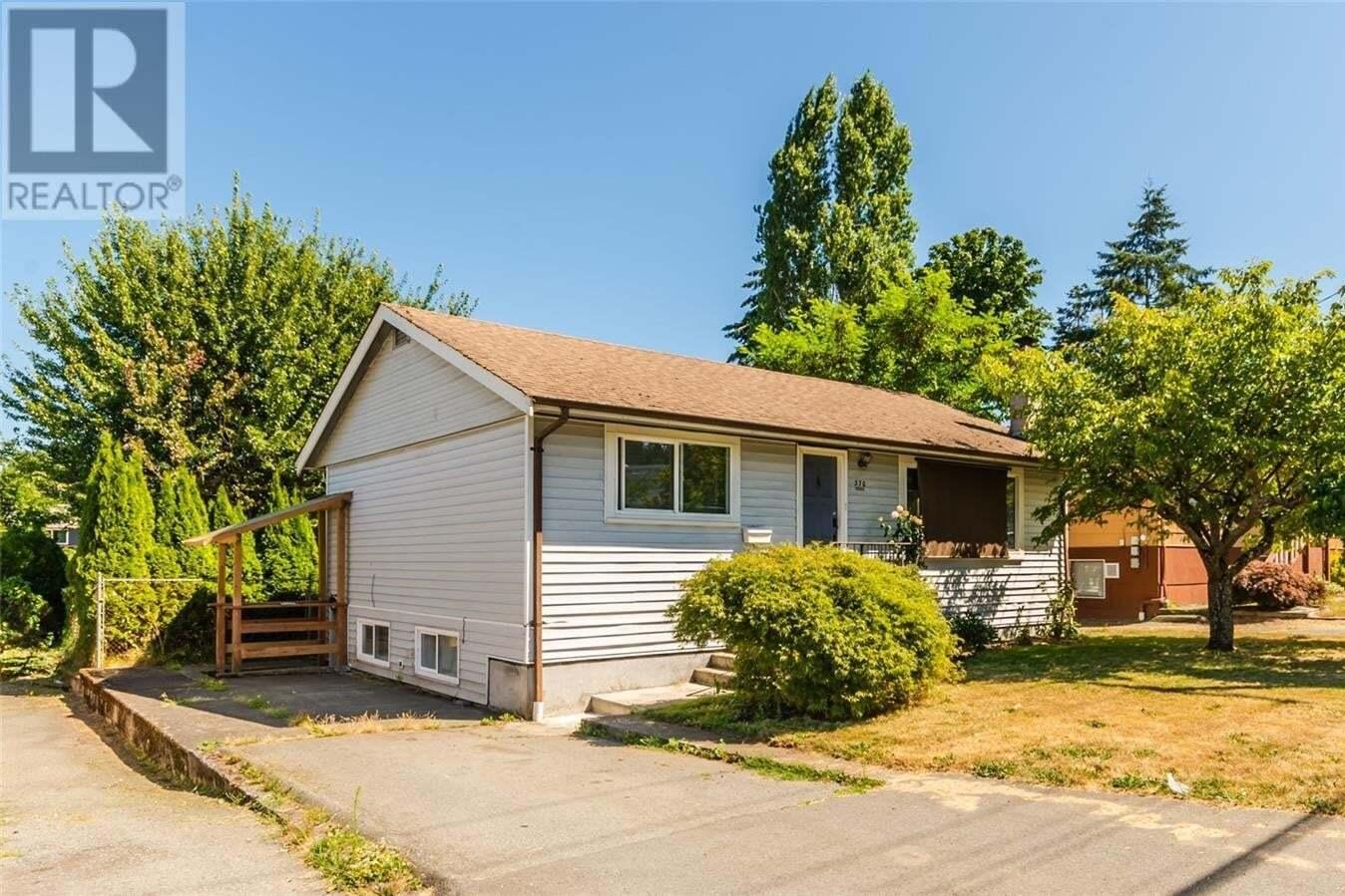House for sale at 370 Wakesiah  Nanaimo British Columbia - MLS: 850497