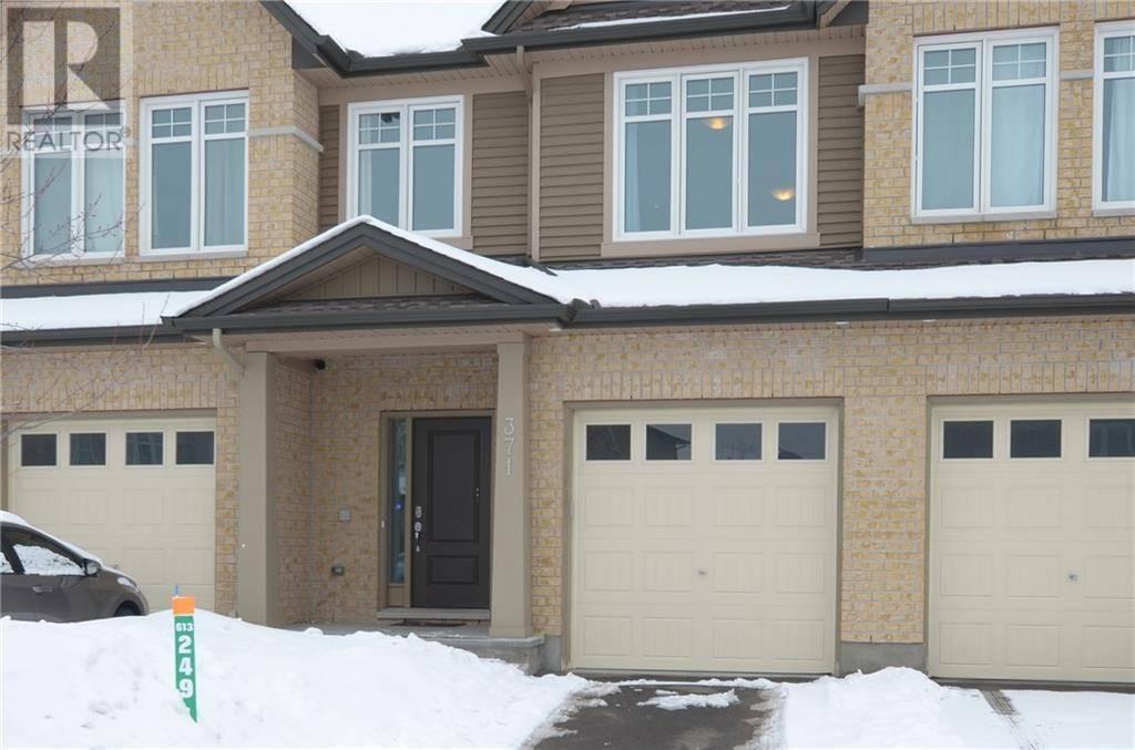 Townhouse for sale at 371 Alasken Dr Ottawa Ontario - MLS: 1184563