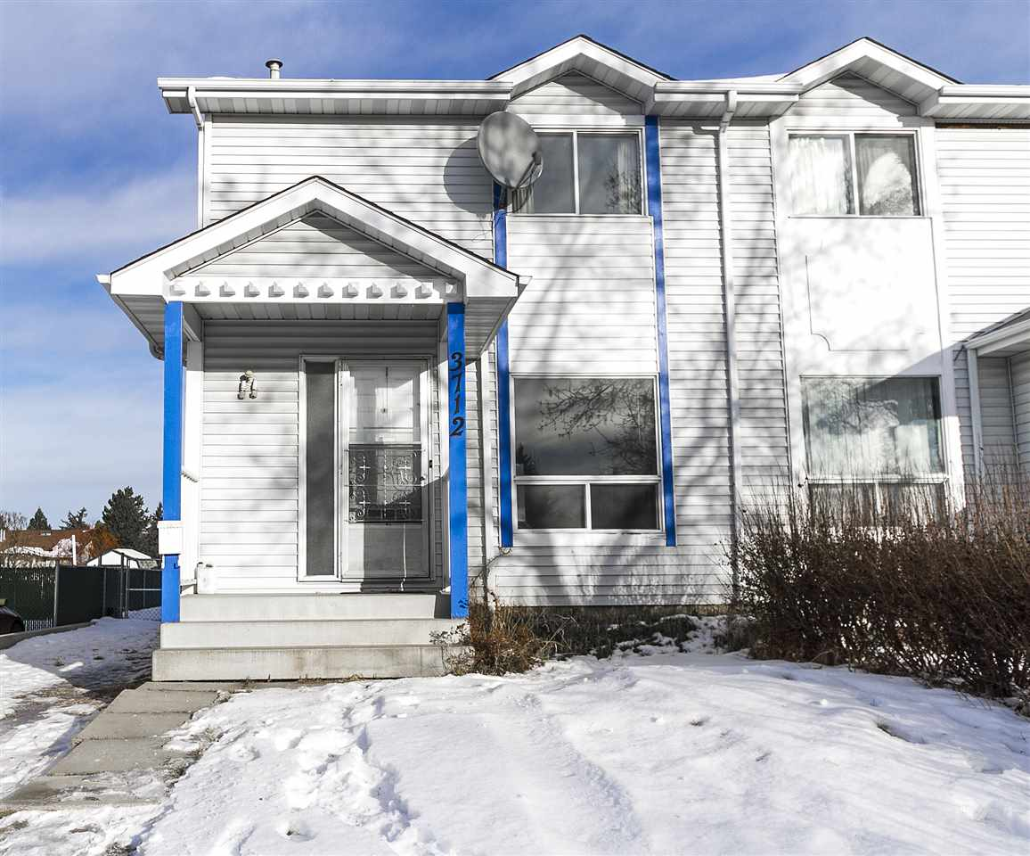 For Sale: 3712 15 Avenue, Edmonton, AB   3 Bed, 2 Bath Townhouse for $224,900. See 28 photos!