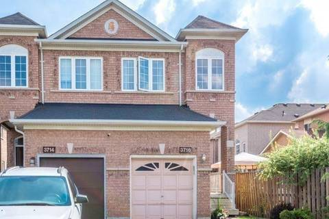 Townhouse for sale at 3716 Golden Locust Dr Mississauga Ontario - MLS: W4449069