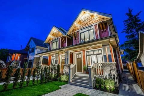 Townhouse for sale at 372 16th Ave E Vancouver British Columbia - MLS: R2454078