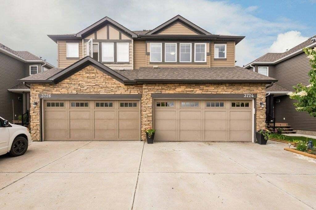 Townhouse for sale at 3724 Whitelaw Ln NW Edmonton Alberta - MLS: E4204013