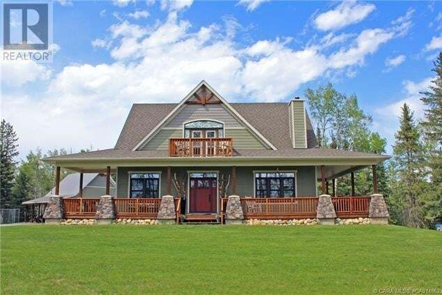 Home for sale at 374008 Range Road 8-1  Rural Clearwater County Alberta - MLS: CA0148623