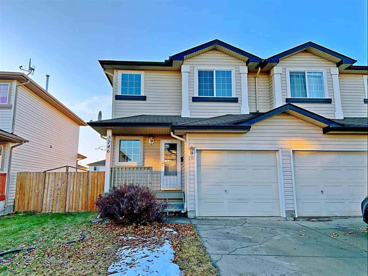 Townhouse for sale at 3746 21 St Nw Edmonton Alberta - MLS: E4180896