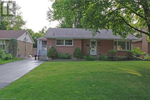 House for sale at 376 Beachwood Ave London Ontario - MLS: 208045