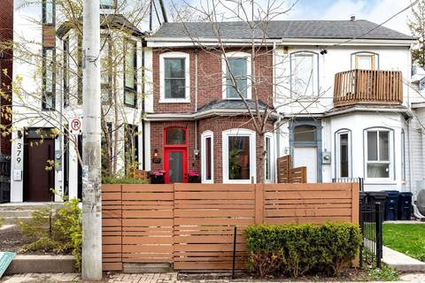Townhouse for sale at 377 Ontario St Toronto Ontario - MLS: C4755383