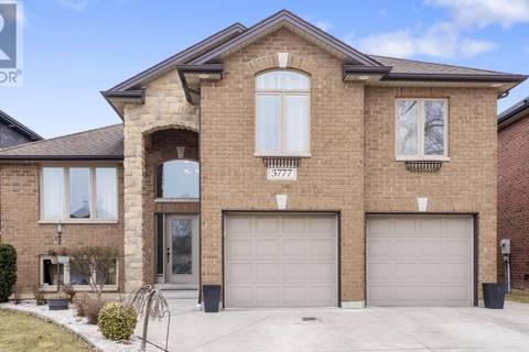 House for sale at 3777 Deerbrook Dr Windsor Ontario - MLS: 19021588